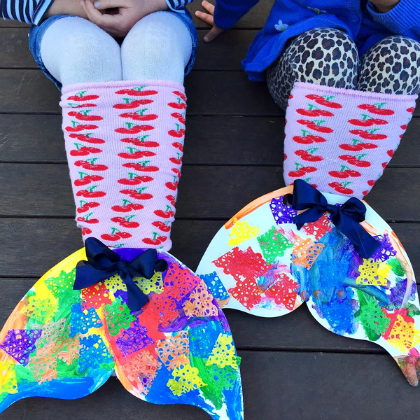 mermaid sock tails