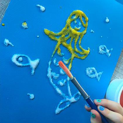 salt glue mermaid