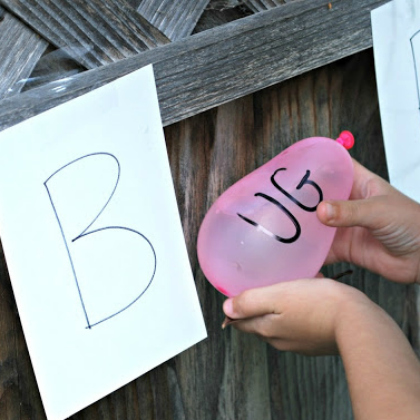 water balloon spelling