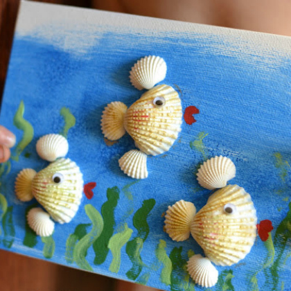 fish canvas