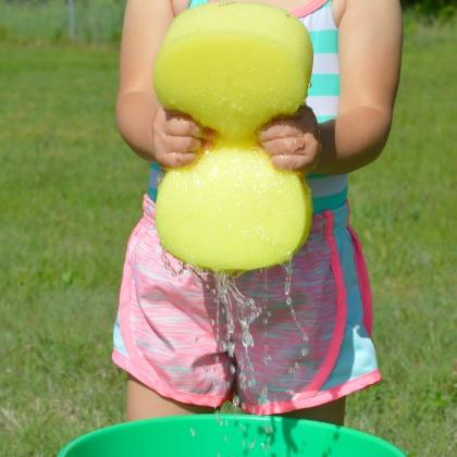 sponge-toss-activity