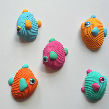 tropical fish shells