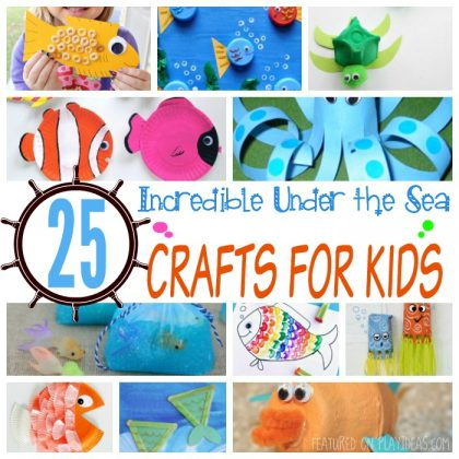 25 Incredible Under The Sea Crafts For Kids