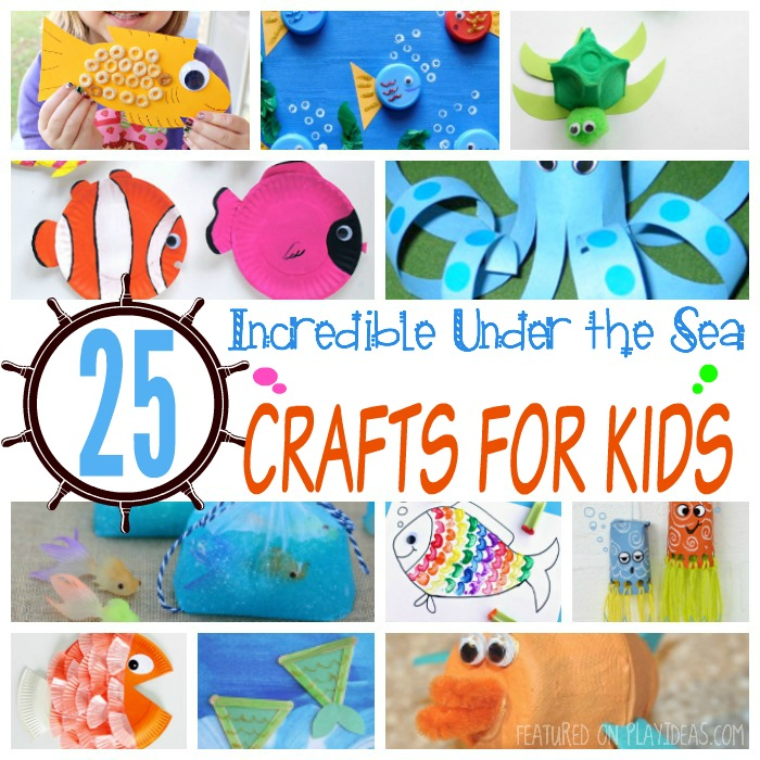 25 Incredible Under the Sea Crafts for Kids Featured