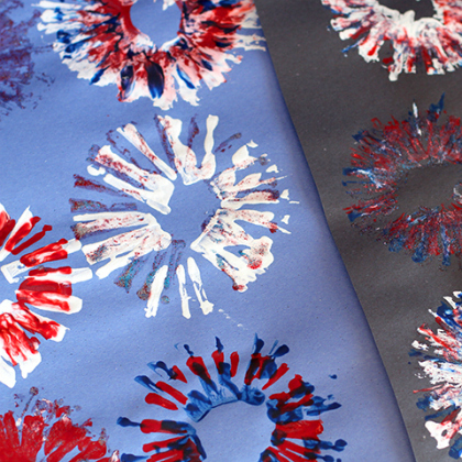 4th-of-July-Fireworks-Painting-Kids-Craft-Activity