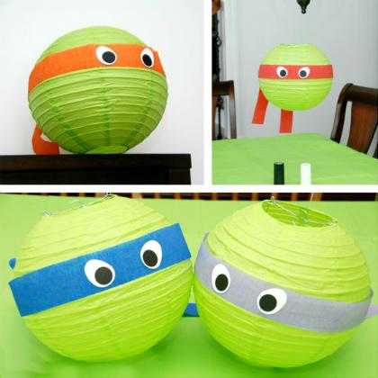 Ninja-Turtle-Lanterns