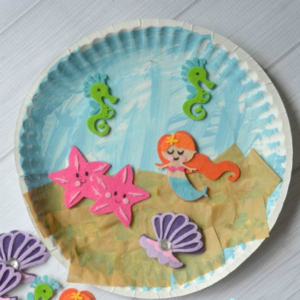 mermaid craft ideas 25 the sea crafts for 2408
