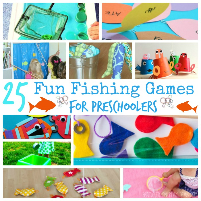 25 Fun Fishing Games For Preschoolers Featured