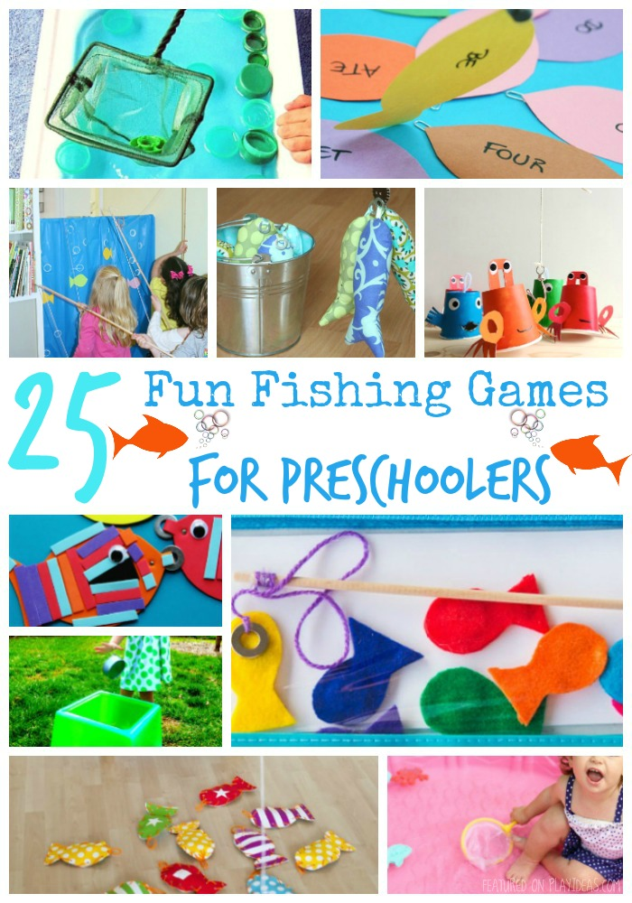 25 Fun Fishing Games For Preschoolers