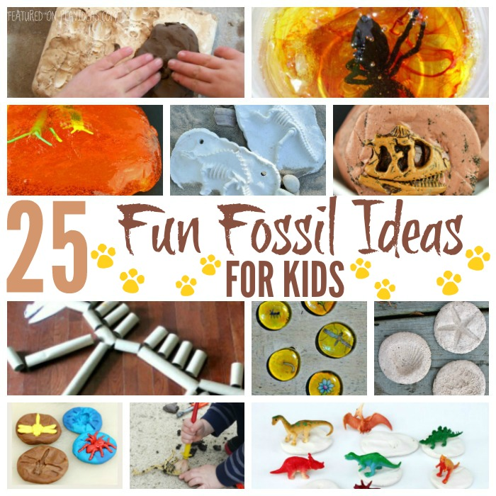 25 Fun Fossil Ideas For Kids Featured
