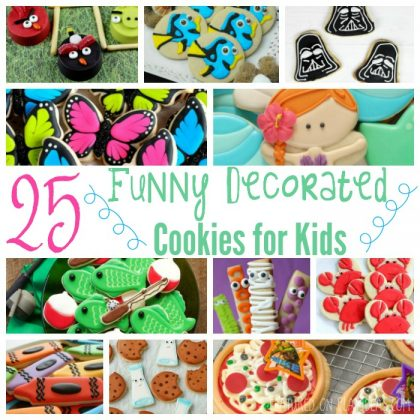 25 Funny Decorated Cookies For Kids