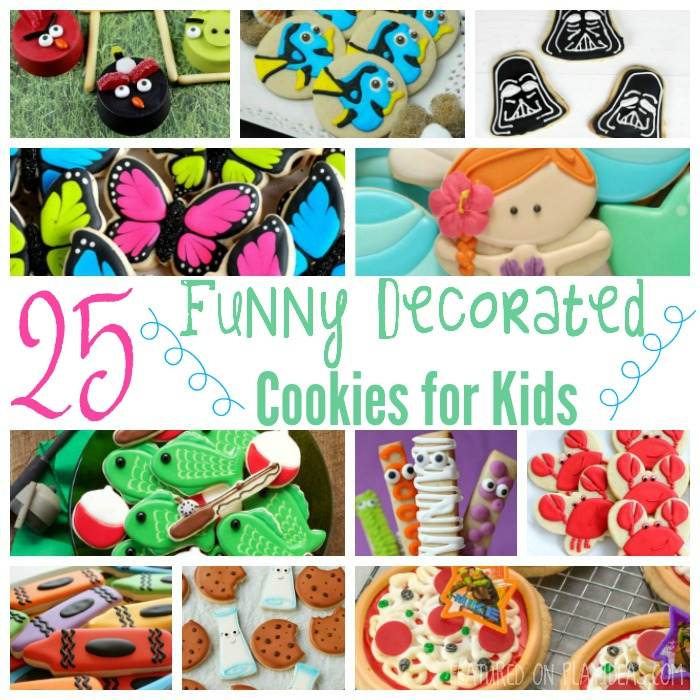 25 Funny Decorated Cookies for Kids Featured