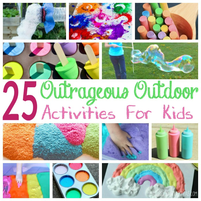 25 Outrageous Outdoor Activities for Kids Featured