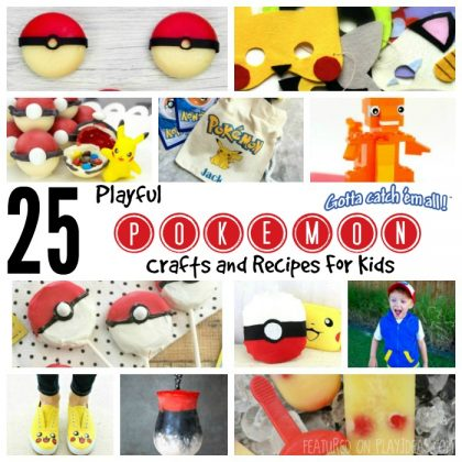 25 Playful Pokémon Crafts And Recipes