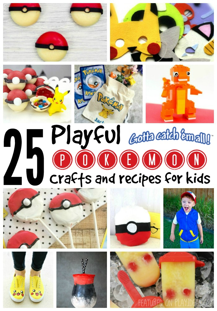 25 Playful Pokemon Crafts and Recipes