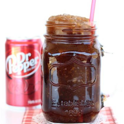 Dr.-Pepper-Slush