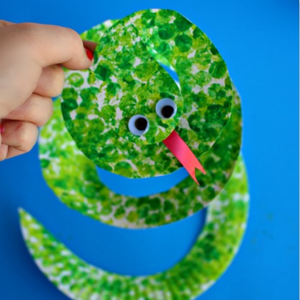 bubble wrap snake