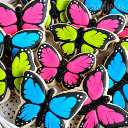 butterfly cookie