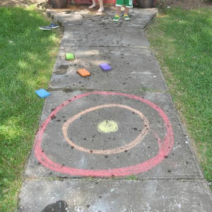 chalk sponge