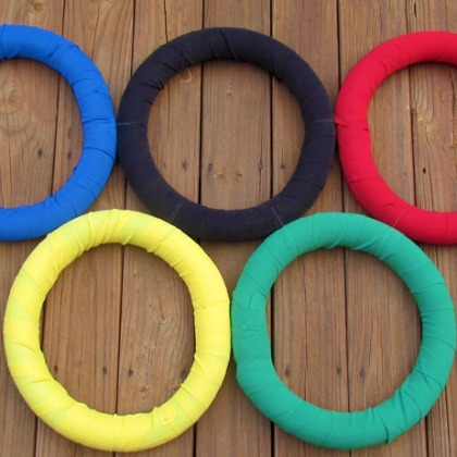 cloth olympic rings