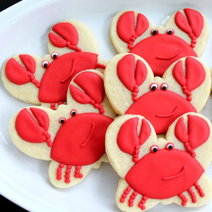 crab cookie