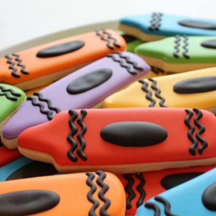 crayola cookie