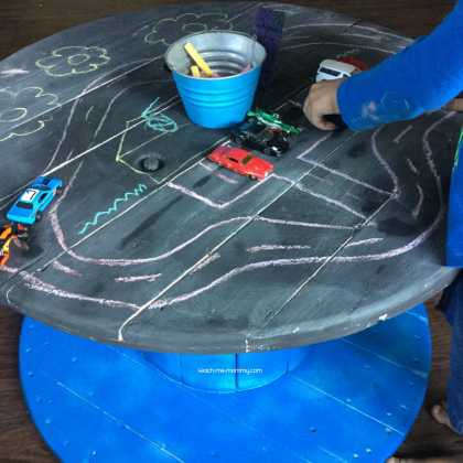 diy chalk table