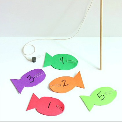 fishing for numbers printable