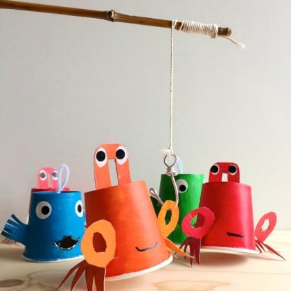 fishing with homemade hooks