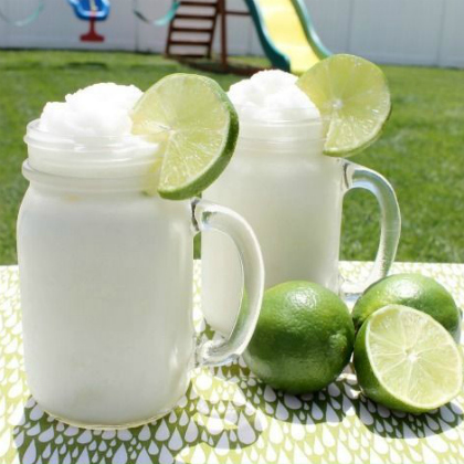 frozen coconut lime