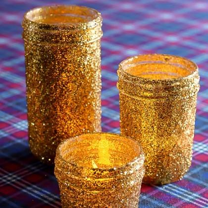 glitter luminaries
