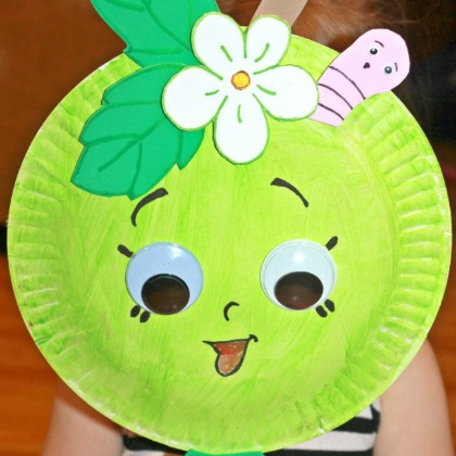 paper plate mask