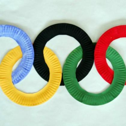 paper plate rings