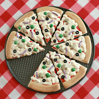 pizza cookie