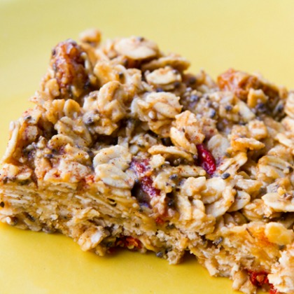 raw granola bars