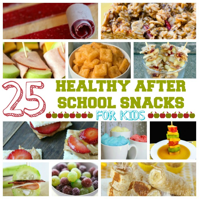 25 Healthy After School Snacks For Kids Featured