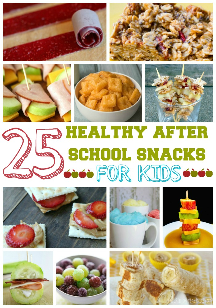 25 Healthy After School Snacks For Kids