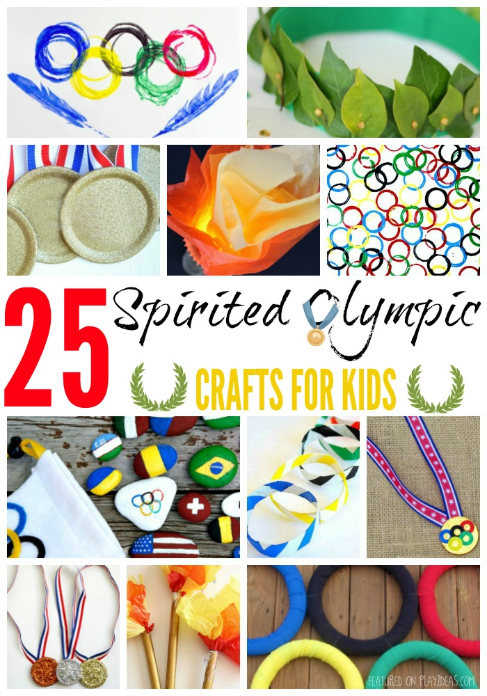 25 Spirited Olympics Crafts For Kids
