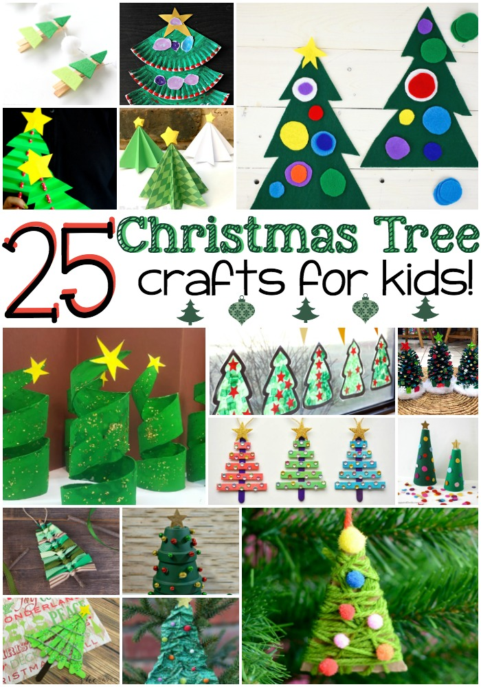 25 christmas tree crafts for kids - Christmas Tree Decorations For Kids