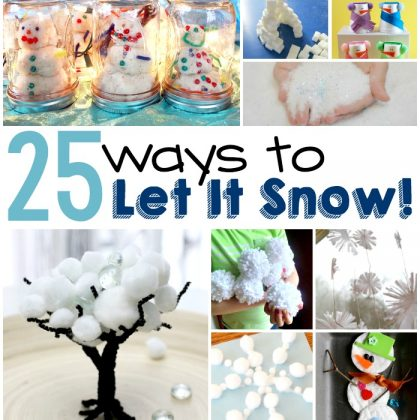 25 Spectacular Indoor Snow Crafts And Activities For Kids