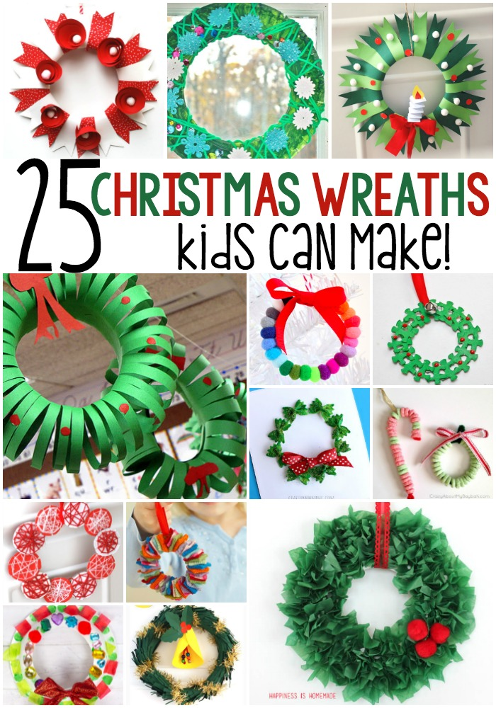 25 Winter Wreath Crafts For Kids
