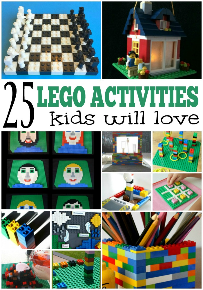 25 Awesome Lego Activities For Kids
