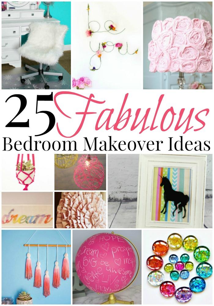 25 fabulous bedroom makeover ideas for girls