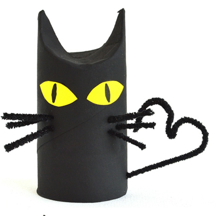 Halloween Crafts: Black Cat Pillows recommend