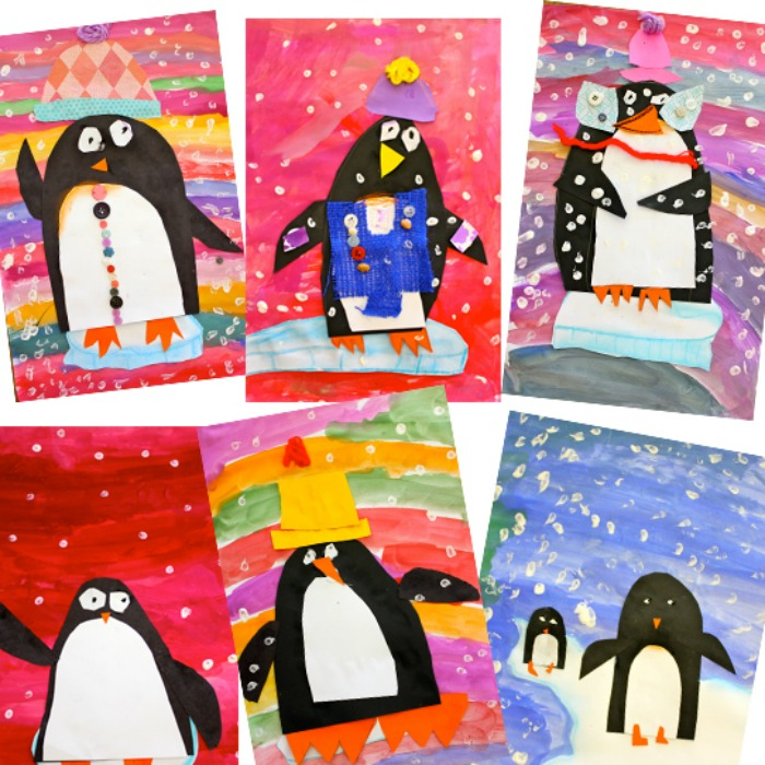 Penguin Art Ideas For Preschoolers