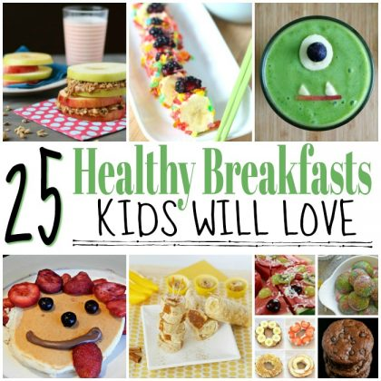 25 Delicious And Healthy Homemade Breakfast Ideas