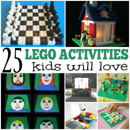 25 Awesome Lego Activities For Kids!