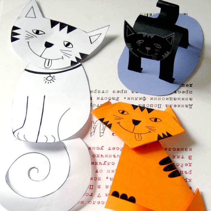25 curiously cute cat crafts for kids for Cat crafts for toddlers