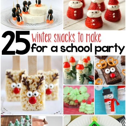 25 Whimsical Winter Snacks For Kids