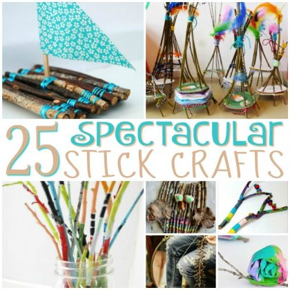 25 Spectacular Stick Crafts For Kids